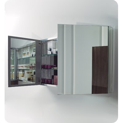 "Fresca 39.5"" x 26.13"" Surface Mount / Recessed Medicine Cabinet"