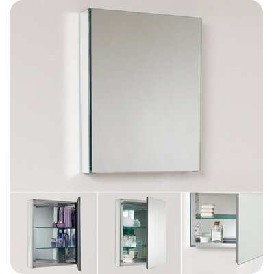 Fresca Small Bathroom Medicine Cabinet with Mirrors