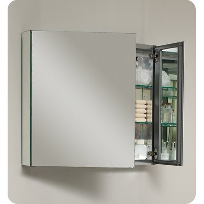 "Fresca 29.63"" x 26.13"" Recessed / Surface Mount Medicine Cabinet"