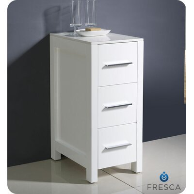 "Fresca Torino 12"" Bathroom Linen Side Cabinet"