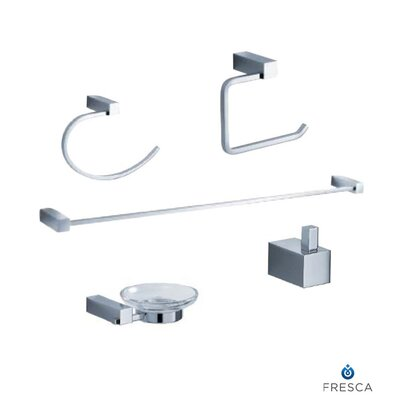 Fresca Ottimo 5 Piece Bathroom Accessory Set