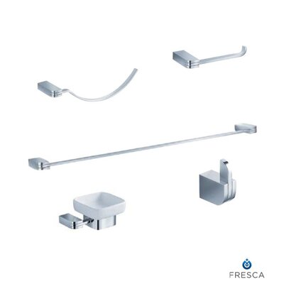 Fresca Solido 5 Piece Bathroom Accessory Set
