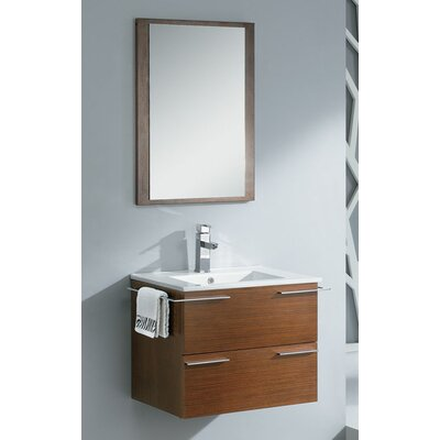 "Fresca Cielo 24"" Modern Bathroom Vanity Set with Mirror"
