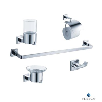 Fresca Glorioso 5 Piece Bathroom Accessory Set