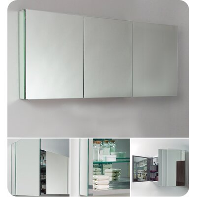 "Fresca 60"" x 26"" Surface Mount / Recessed Medicine Cabinet"
