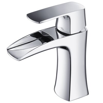 Fresca Fortore Single Handle Deck Mount Vanity Faucet