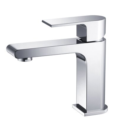 Allaro Single Handle Deck Mount Vanity Faucet - FFT9151CH