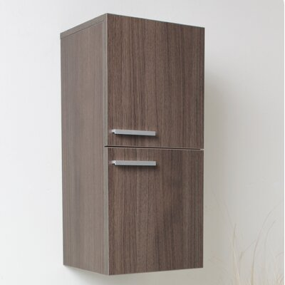 "Fresca 12.63"" x 27.5"" Bathroom Linen Side Cabinet"