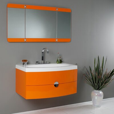 "Fresca Lucido Energia 36"" Modern Bathroom Vanity Set"