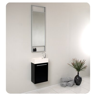 fresca senza 16 single pulito small modern bathroom vanity set with
