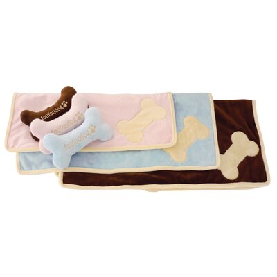 Fou Fou Dog Puppy Dog Blanket Set