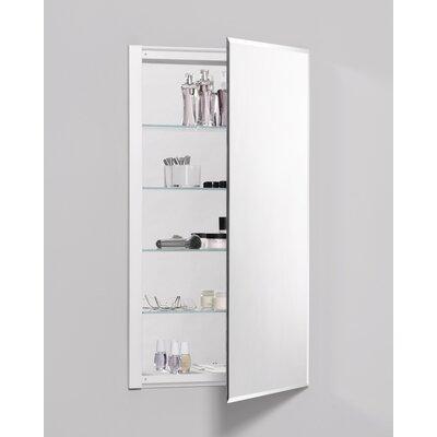 "Robern R3 Series 20"" x 36"" Recessed Beveled Flat Edge Beveled Edge Medicine Cabinet"