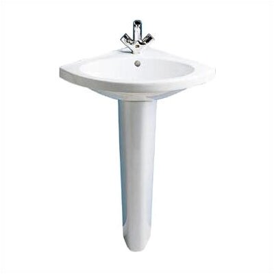 Carene Pedestal Bathroom Sink Set - 24321-00.001