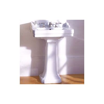 Pomezia Pedestal Bathroom Sink Set - 24538