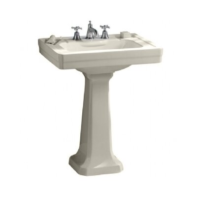 Lutezia Pedestal Bathroom Sink Set - 24508