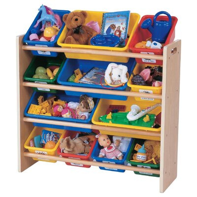 Tot Tutors Primary Toy Organizer