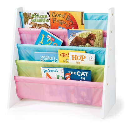 Tot Tutors Book Rack in Pastel