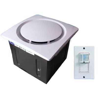 110 CFM Energy Star Bathroom Fan with Light