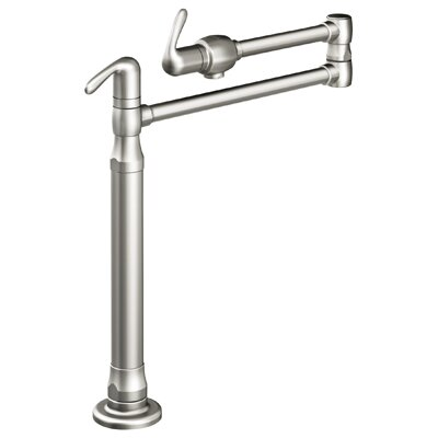 Grohe Ladylux3 Deck Mount Pot Filler in Stainless Steel