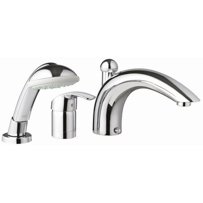 Grohe Eurosmart Diverter Roman Tub Faucet with Personal Hand Shower