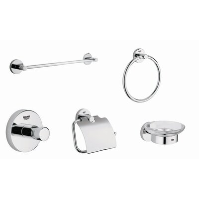 Grohe Essential Accessory Kit in Starlight Chrome