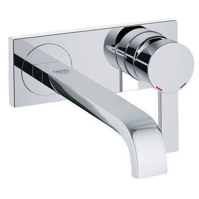 Grohe Allure Wall Mounted Kitchen Faucet with Single Handle
