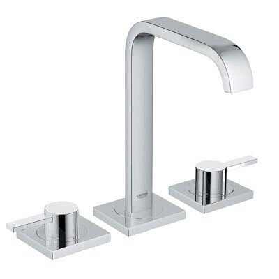 Grohe Allure Widespread Bathroom Faucet with Double Lever Handles