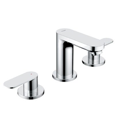 Eurosmart Widespread Bathroom Faucet with Double Lever Handles - 20199000