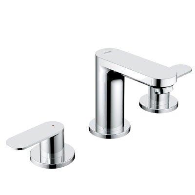 Grohe Eurosmart Cosmopolitan Widespread Bathroom Faucet With Double Lever Han