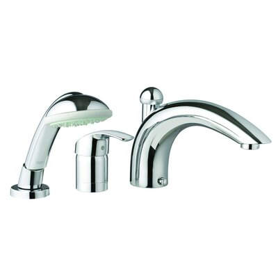 Grohe Eurosmart Diverter Roman Tub Faucet With Personal Hand Shower Rev