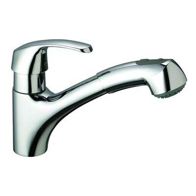 Alira Single Handle Single Hole Kitchen Faucet with Dual Spray
