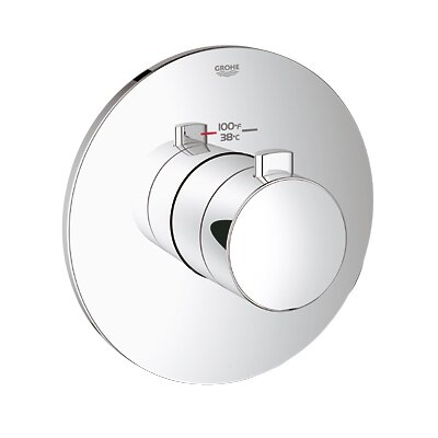 Grohe GrohFlex Cosmopolitan Custom Shower Thermostatic Trim with Control Module