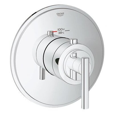 Grohe GrohFlex Timeless Custom High Flow Shower Thermostatic Trim with Control Module