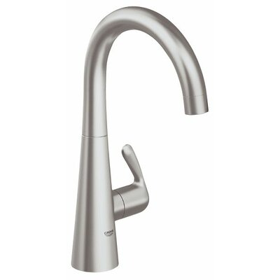 Grohe Ladylux³ One Handle Single Hole Pillar Kitchen Faucet with Watercare