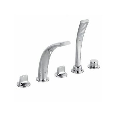 Grohe Ondus Double Handle Roman Tub Filler with Handshower