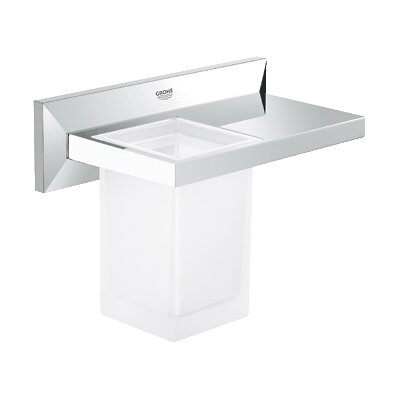 Grohe Allure Brilliant Bathroom Tumbler with Shelf