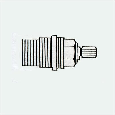 """Grohe Carbodur 0.5"""" Cartridge Valve with 90° Right Close"""