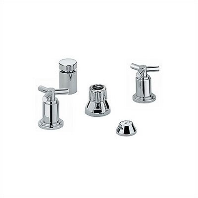Grohe Atrio Double Handle Vertical Spray Widespread Faucet