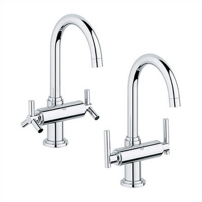 Atrio Two Handle Single Hole Bridge Faucet