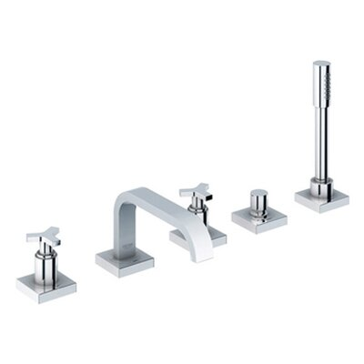 Grohe Allure Thermostatic Roman Tub Faucet with Personal Hand Shower