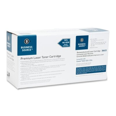 Business Source Copier Toner Cartridge, 4000 Page Yield, Black