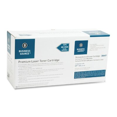 Business Source Print Cartridge, 4000 Page Yield, Black