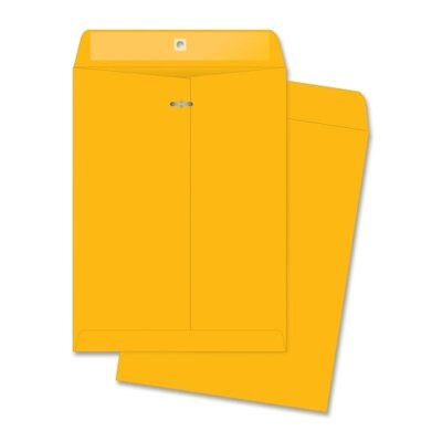 Business Source Clasp Envelopes (100 Per Box)