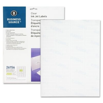 Business Source Premium Mailing Label (Pack of 2000)