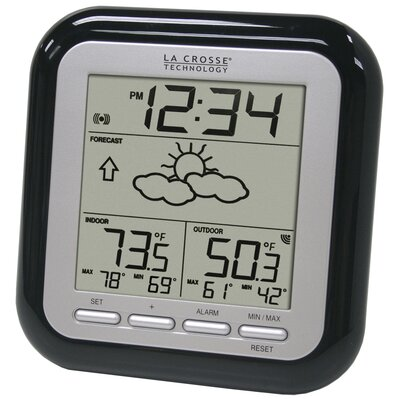 La Crosse Technology Wireless Forecast Station in Black