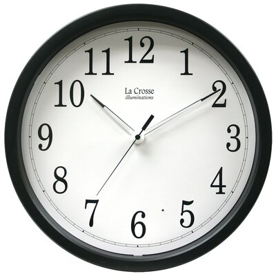 La Crosse Technology Illuminations Wall Clock