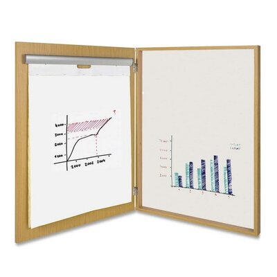 "Bi-silque Visual Communication Product, Inc. Conference Room Cabinet, Single Door, 3-3/5""x32""x44"", Natural"