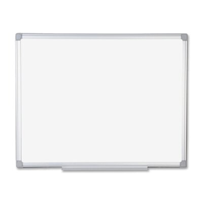 "Bi-silque Visual Communication Product, Inc. Mastervision Mastervision Earth Easy-Clean Dry Erase Board, 48"" Wide"