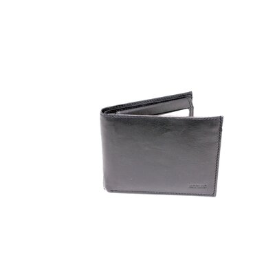 Kozmic Leather Bi Fold Quadra Flip Up Double ID Wallet