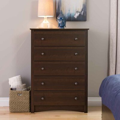 Prepac Fremont 5 Drawer Chest